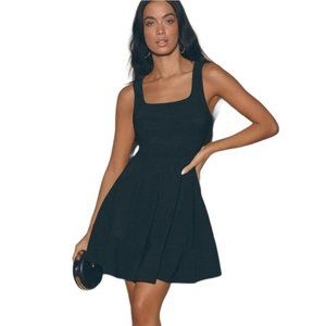 Lulus Home Before Daylight Fit & Flare Dress
